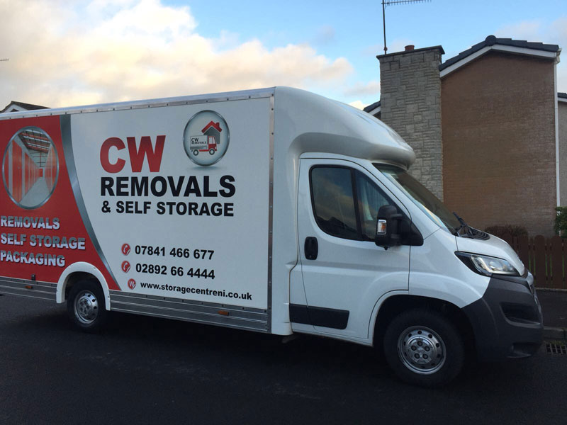 CW Removals Lisburn – Partnership with the Storage Centre
