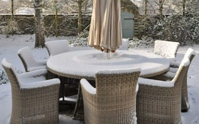 Where are you putting all your garden furniture this winter?