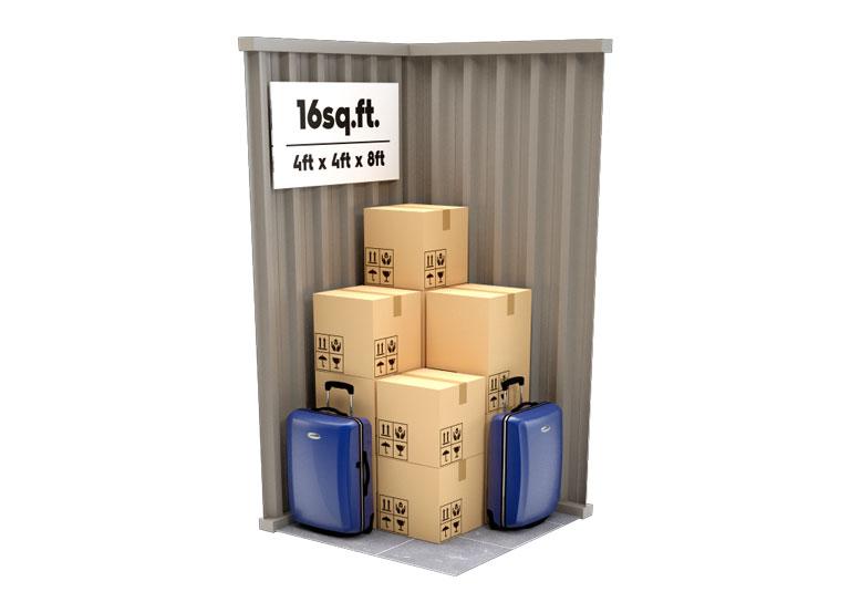 16 sq ft Storage Unit