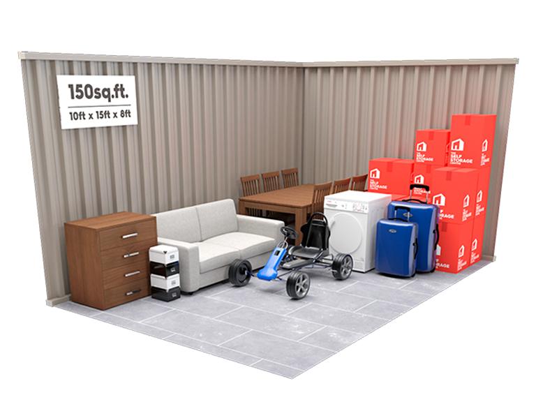 150 sq ft Storage Unit