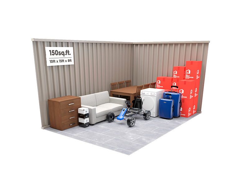 150 sq ft Storage Unit